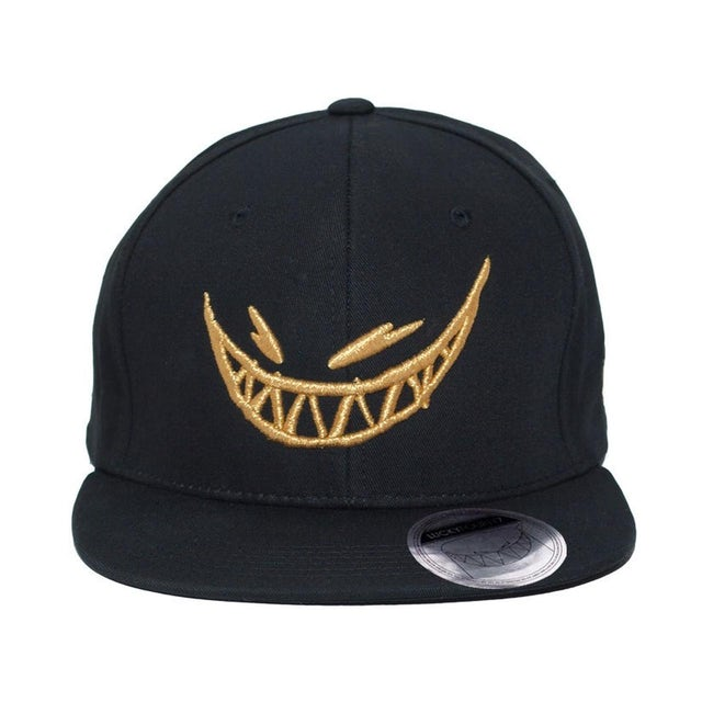 Feed Me // Gold Grin Snapback