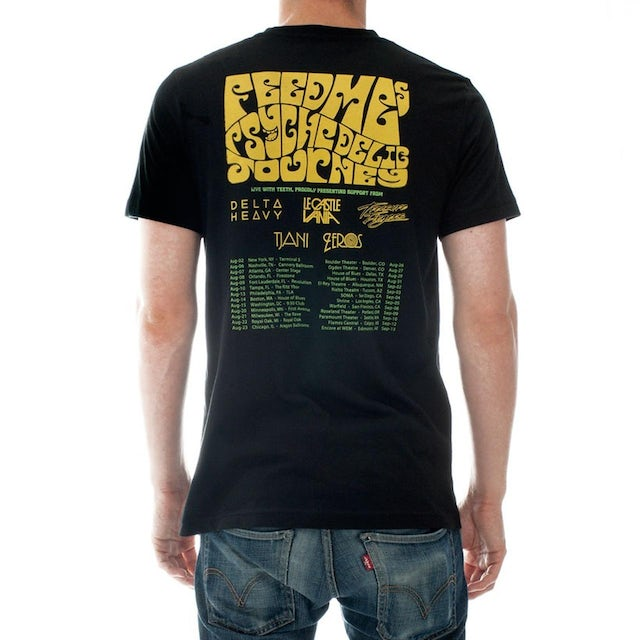 Feed Me Psychedelic Journey Tour Shirt
