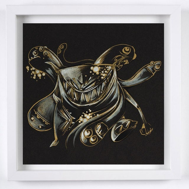 "Feed Me ""Gilded tombs do worms enfold, fare you well, your suit is cold."" Art Print"