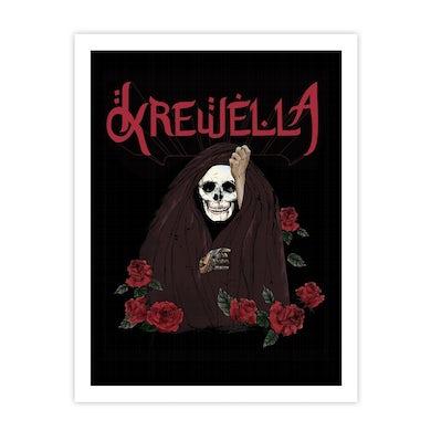 Krewella   Skull Veil Print