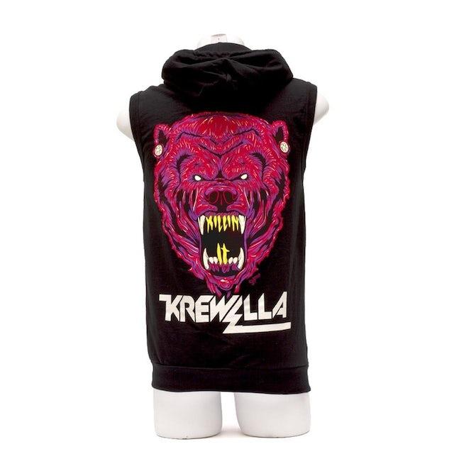 Krewella SLEEVELESS HOODIE