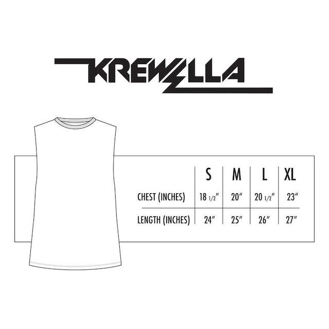 Krewella TEE // GASMASK SLEEVELESS