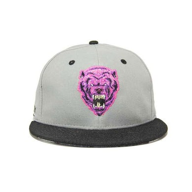 Krewella SNAPBACK HAT // GREY