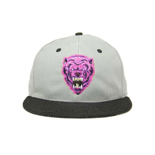 Krewella FITTED HAT // GREY