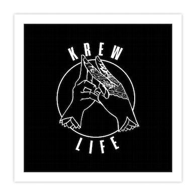 Krewella   Emblem Print