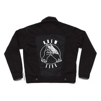 Krewella   Emblem Denim Jacket