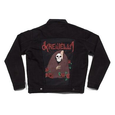 Krewella   Skull Veil Denim Jacket