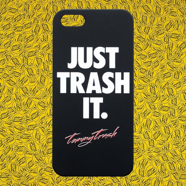 Tommy Trash Just Trash It iPhone 5 Case