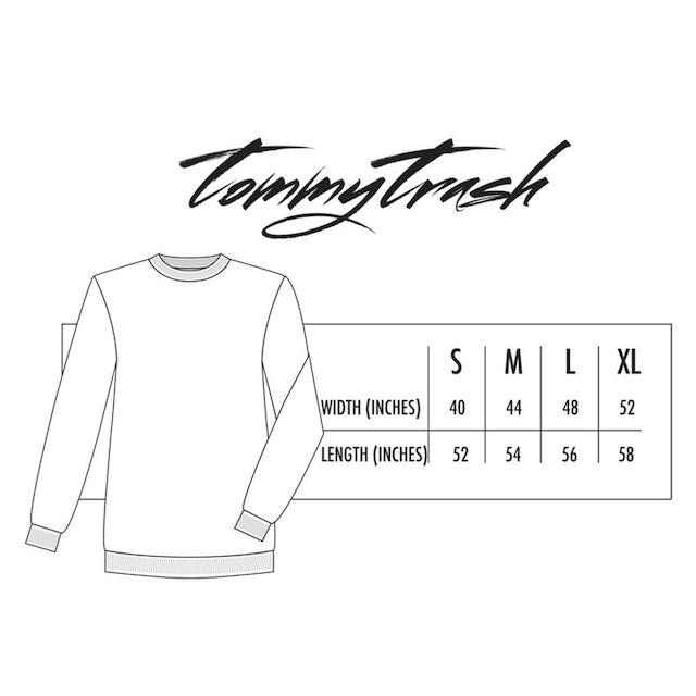 Tommy Trash Just Trash It Crewneck | Black