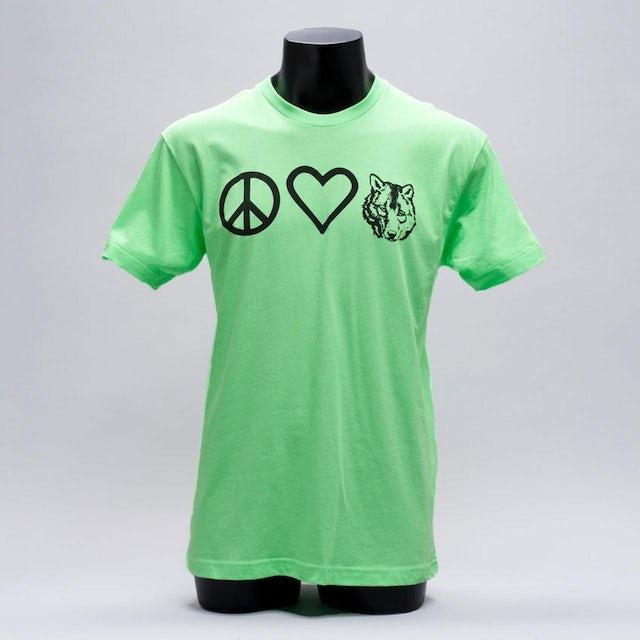 Wolfgang Gartner Peace Love and Wolfie Tee