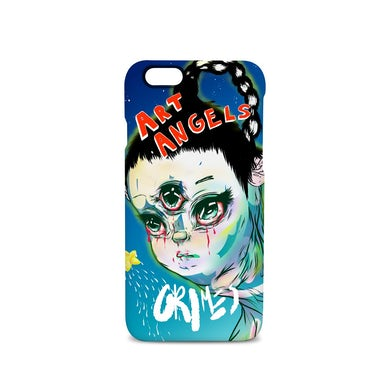 Grimes Art Angeles 3 iPhone Case