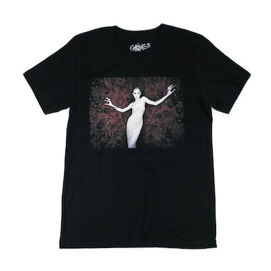 Grimes Rhinestone Cowgirls Tour T-Shirt with Tour Dates