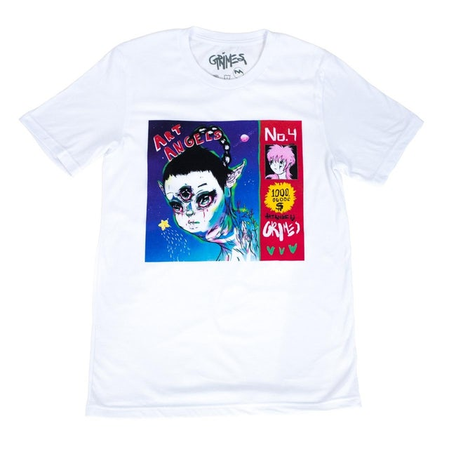 Grimes Art Angels CD and Shirt Bundle