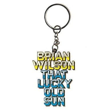 "Brian Wilson ""That Lucky Old Sun"" Keychain"