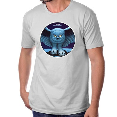 Rush Fly By Night T-Shirt in Silver