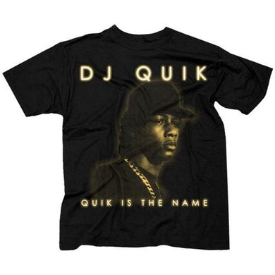 "DJ Quick DJ Quik ""Quik Is The Name"" T-Shirt"