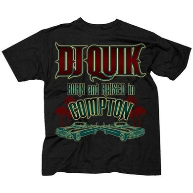 "DJ Quick DJ Quik  ""Born And Raised"" T-Shirt"
