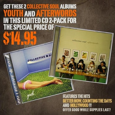 Collective Soul 2-Pack CD