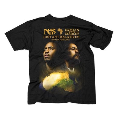 """Damian Marley & Nas """"Distant Relatives"""" T-Shirt"""