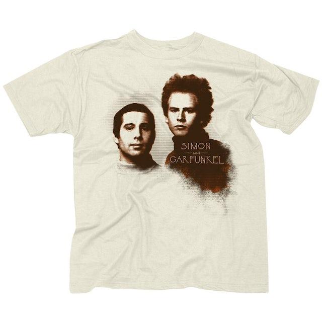 "Simon and Garfunkel Simon & Garfunkel ""Faces"" T-Shirt"