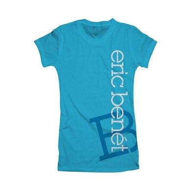 """Eric Benet """"Vertical EB"""" Women's T-Shirt"""