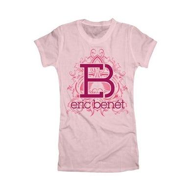 """Eric Benet """"Floral Crest"""" Women's T-Shirt"""