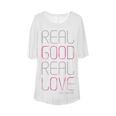 "Eric Benet ""Real Love"" Women's OVERSIZED Sleep Shirt"