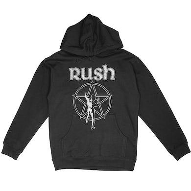 """Rush """"Starman"""" Pullover Hoodie"""