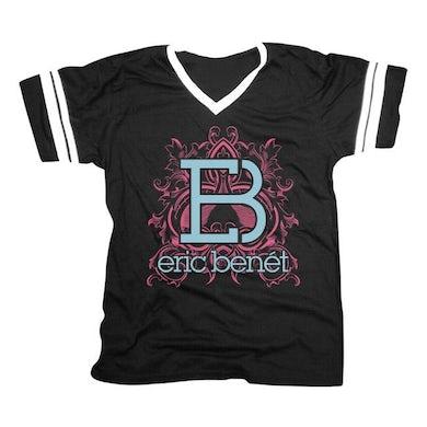 """Eric Benet """"Floral Crest"""" Women's V-Neck"""