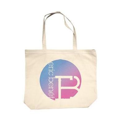 """Eric Benet """"Circles"""" Canvas Bag"""