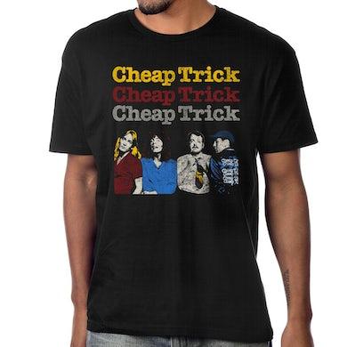 """Cheap Trick """"World Tour 1978"""" T-Shirt"""