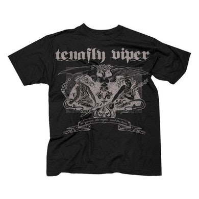 """Tenafly Viper """"The Queen, the Night, and the Liars"""" T-shirt"""