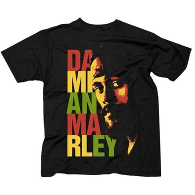 "Damian Marley ""Stacked Logo"" T-Shirt"