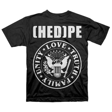 """Hed PE Hed P.E. """"Love-Truth-Family-Unity"""" T-Shirt"""