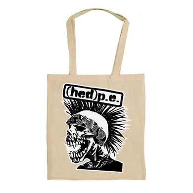 """Hed PE Hed P.E. """"Punx Not Ded"""" Tote Bag"""