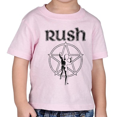 Rush Starman Infant T-Shirt in Pink