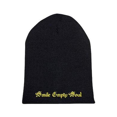 "Smile Empty Soul ""Logo"" Black Beanie"