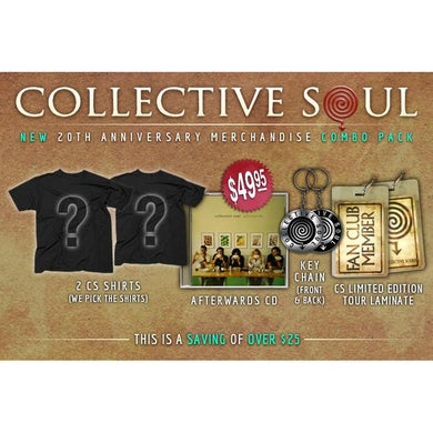 "Collective Soul ""20th Anniversary"" Women's Combo Pack."