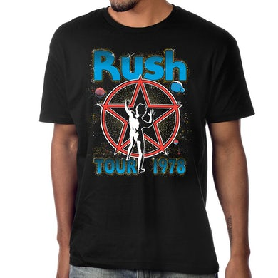 Rush Starman Tour 1978 T-Shirt