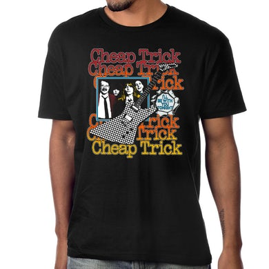 """Cheap Trick """"I'll Be With You Tonight"""" T-Shirt"""