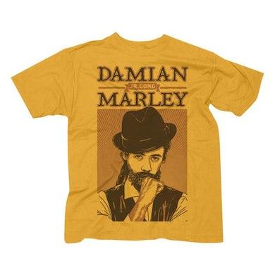 """Damian Marley """"Mr Marley"""" Men's GoldT-Shirt"""