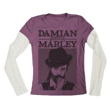 "Damian Marley ""Mr Marley"" Women's Long Sleeve T-Shirt"