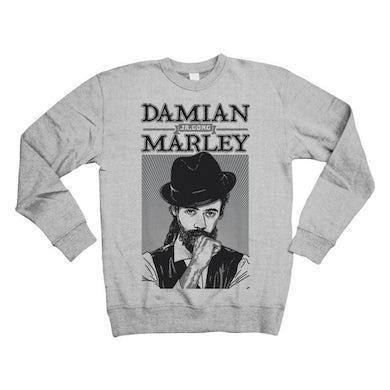 "Damian Marley ""Mr Marley"" Crew Neck Sweatshirt"