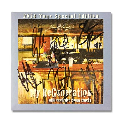 """DOWN N OUTZ Down N' Outz """"My ReGeneration"""" AUTOGRAPHED & Limited Edition Numbered CD"""