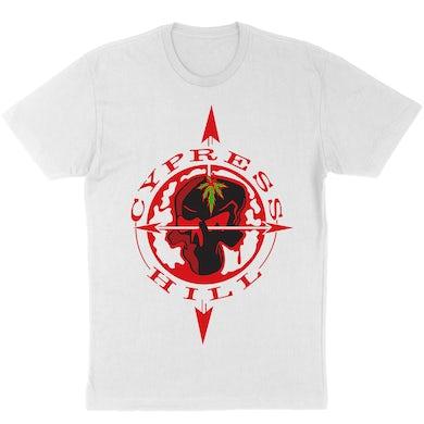 """Cypress Hill """"Skull & Compass"""" T-Shirt"""