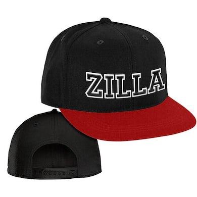 """Damian Marley """"Zilla"""" Black and Red Baseball Cap"""