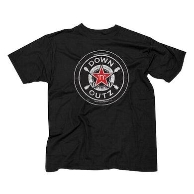 """DOWN N OUTZ Down N' Outz """"Star Logo"""" T-Shirt"""