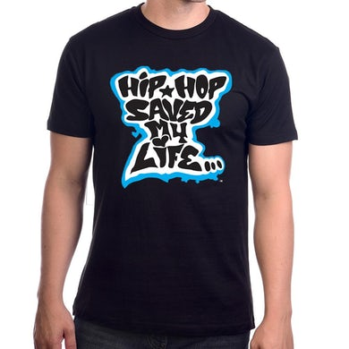 Afrika Bambaataa Hip Hop Saved My Life T-shirt