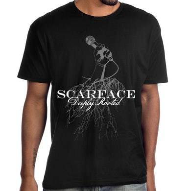 """Scarface """"Deeply Rooted"""" T-Shirt"""