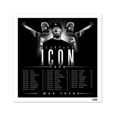 """Scarface """"Icon Tour"""" Litho"""